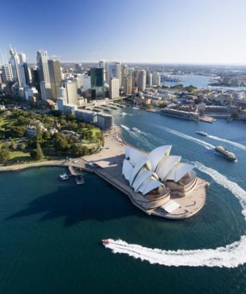 Город парусов. Сидней